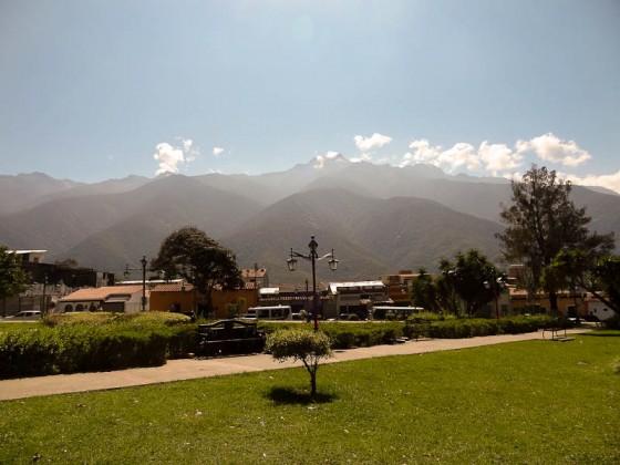 Mountain Scenes In Merida