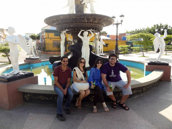 Old Maracaibo With New Friends