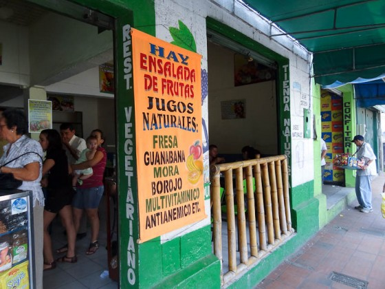Vegetarian Restaurant In Cucuta, Colombia