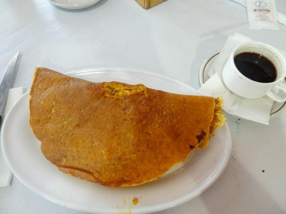 Venezuelan Cachapa