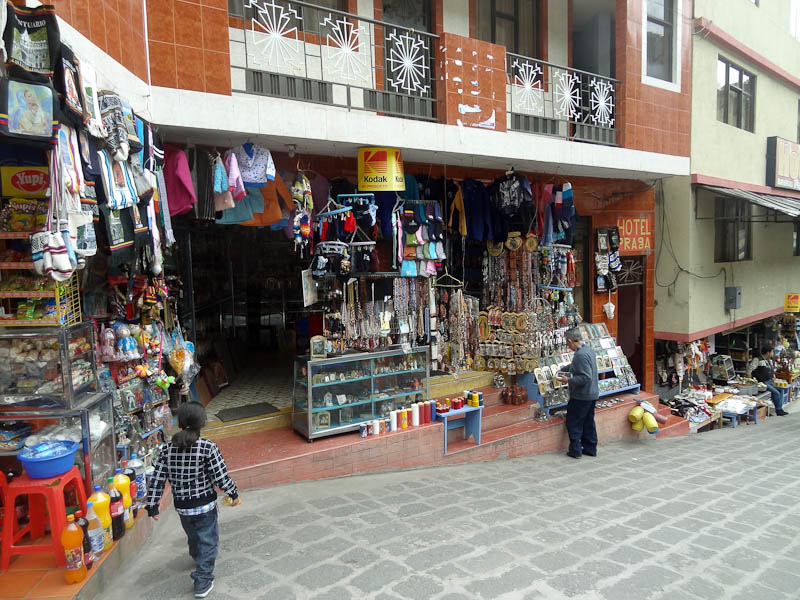 Lots Of Souvenir Shops