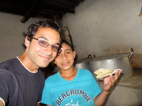 Arepas With Juan Pablo