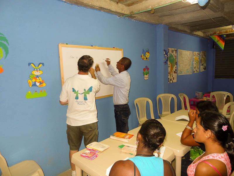 Marcos Teaching English