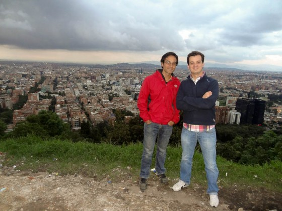 Me And Justo - Friend, Bogota Expert, And Amazing Rolodex!