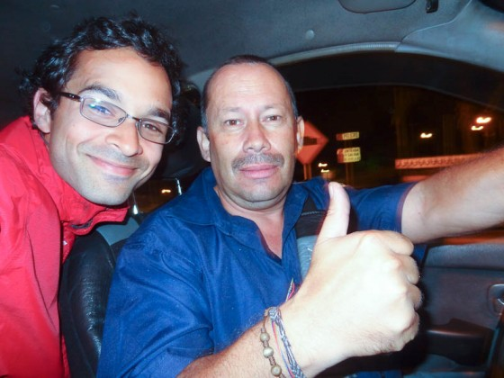 Me With My Awesome Taxi Driver