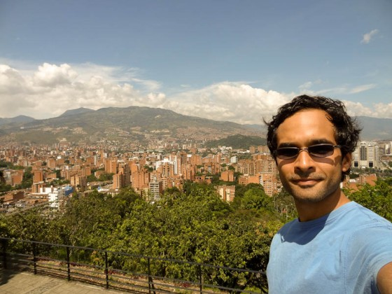 Me With Medellin From Pueblito Paisa