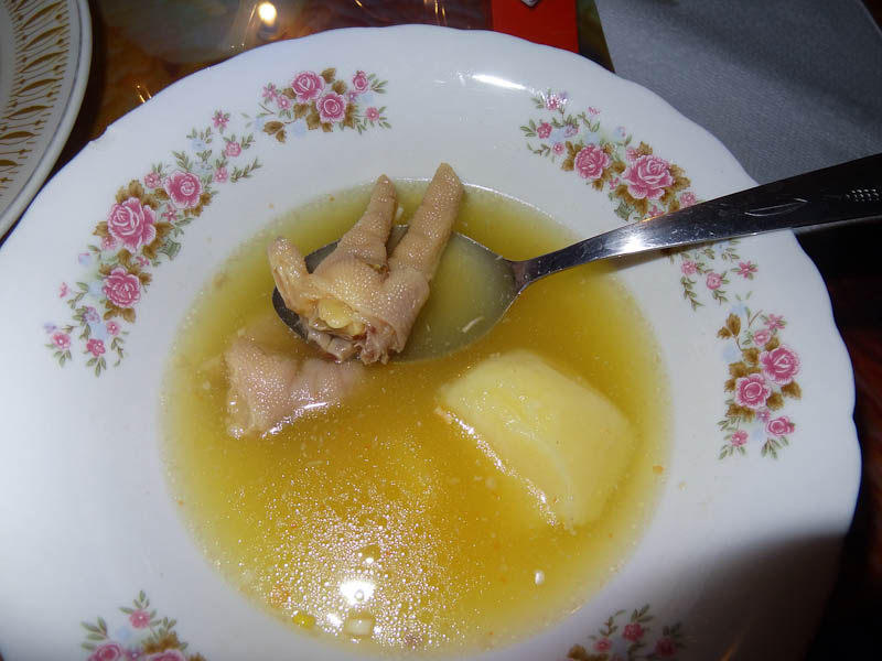 Soup With Chicken Foot