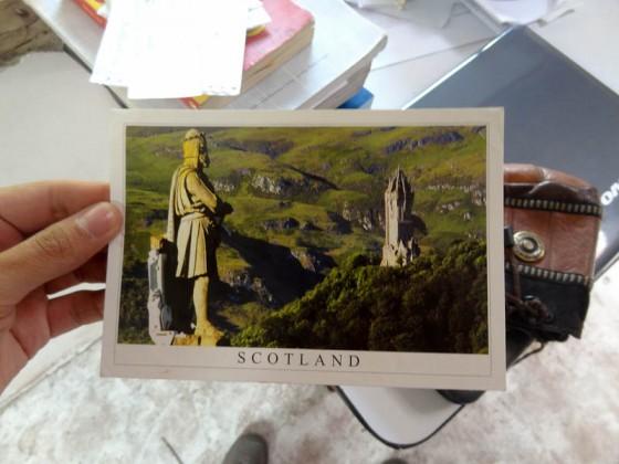 Stirling, Scotland Postcard