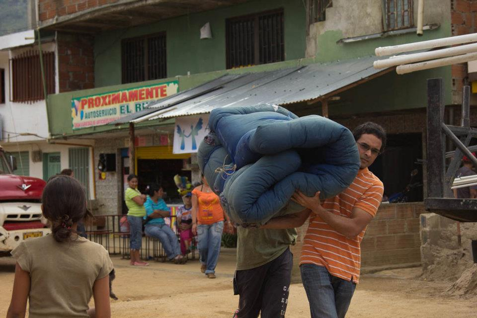 Taking A Donated Bed And Mattress To A Family