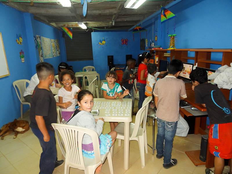 The Kids Inside Angeles de Medellin