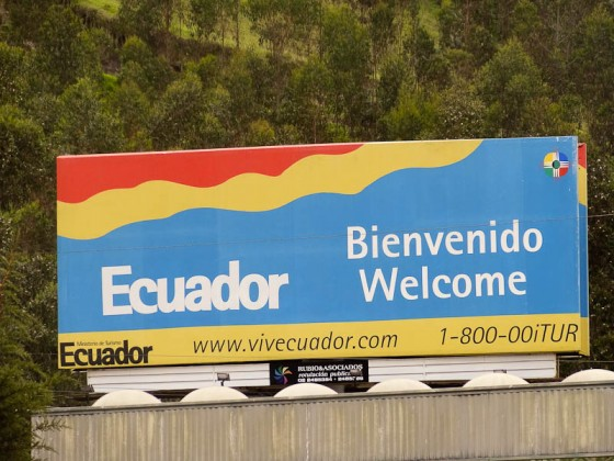Welcome To Ecuador