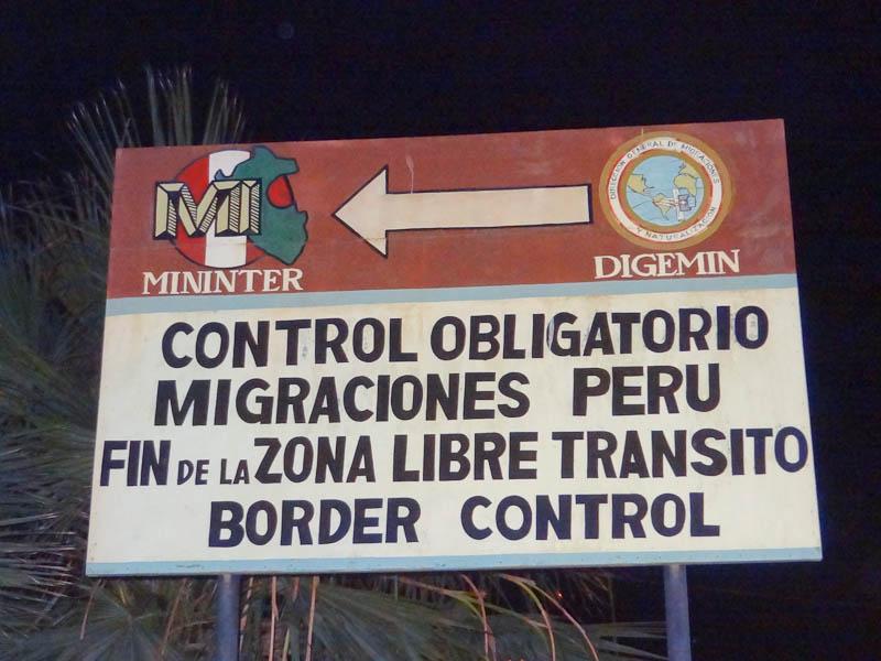 Peruvian Border Control