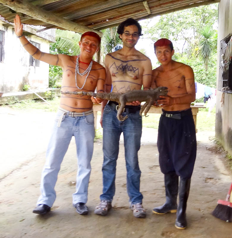 Budy, Me, Maro, And An Iguana