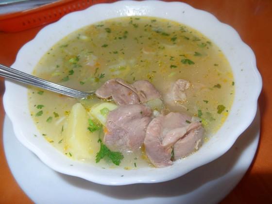 Chicken Innards Soup