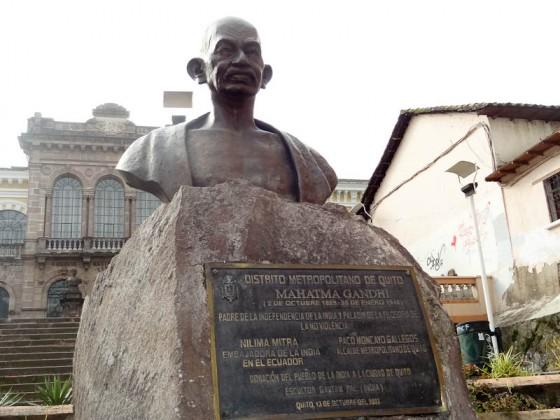 Plaza de India - Gandhi
