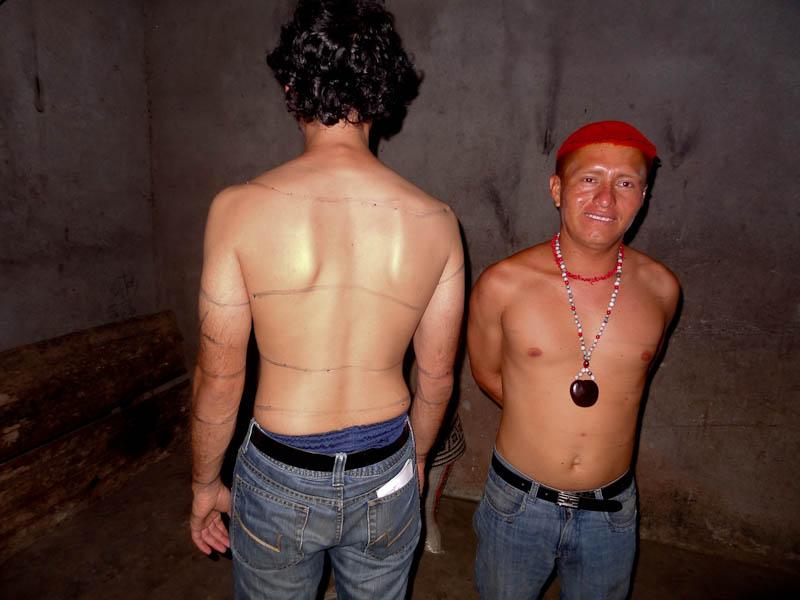 Tsachila Body Painting