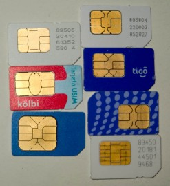 Some Local Sim Cards I've Picked Up Along The Way
