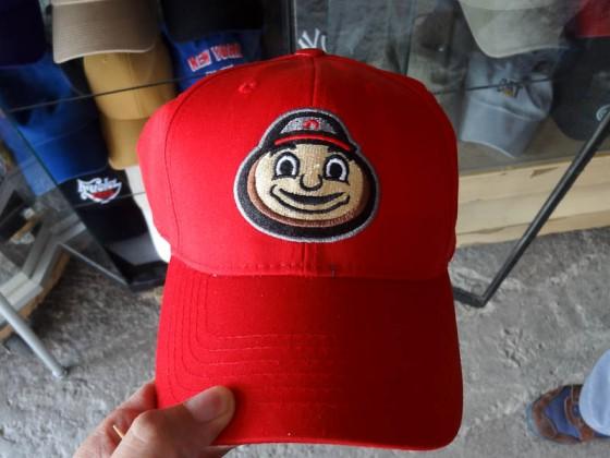 Ohio State Hat Featuring Brutus Buckeye
