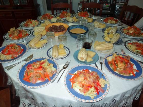 Amazing Peruvian Lunch