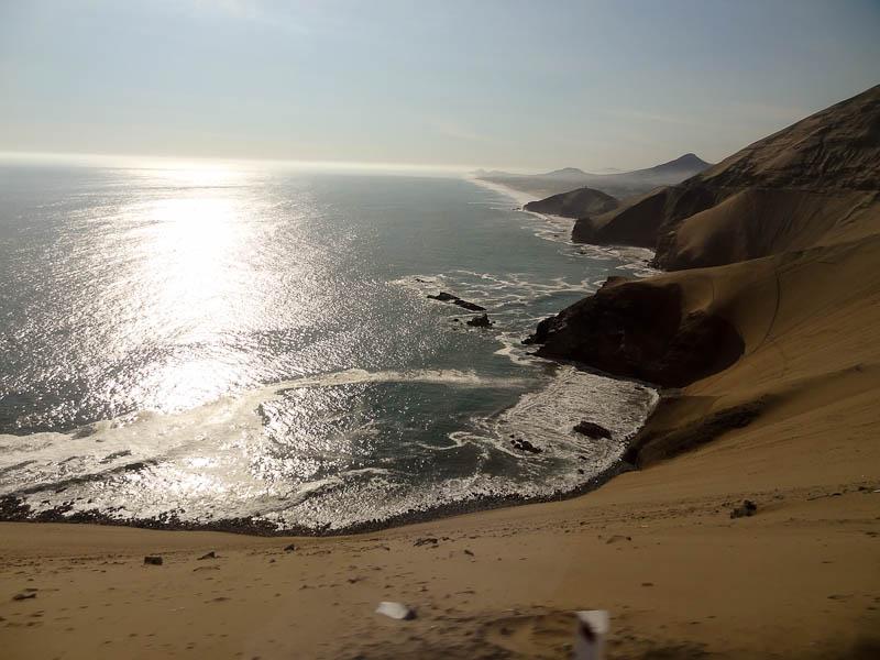 Hello Pacific Ocean And Desert!