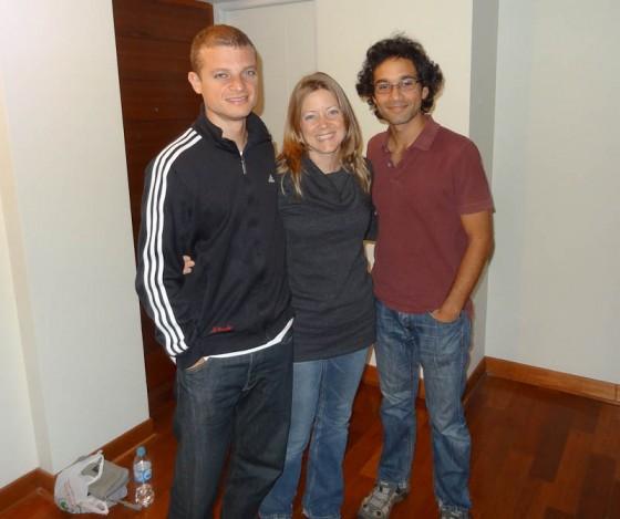Josan, Danielle, and I