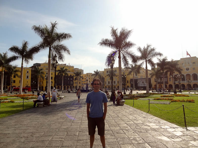 Me In The Central Square