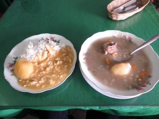 A Lunch I Had In Cusco, Peru For 5 Soles/$1.87