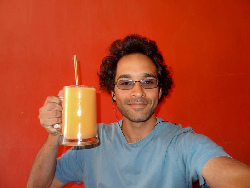 A Gigantic Glass Of Juice