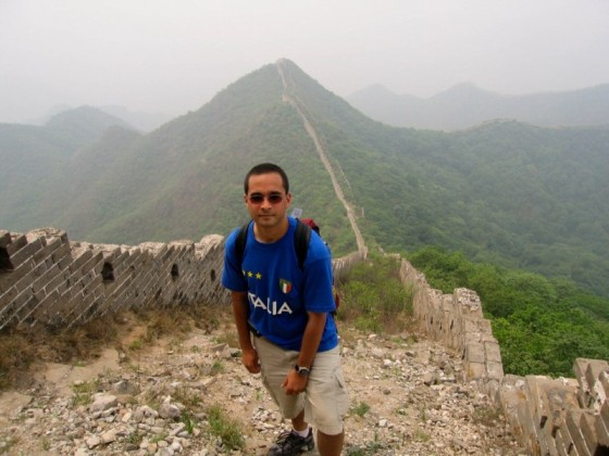 Me At The Great Wall Of China In 2006