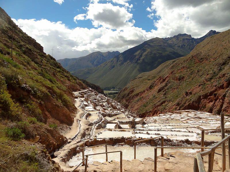Maras Set Among All The Mountain Greenery