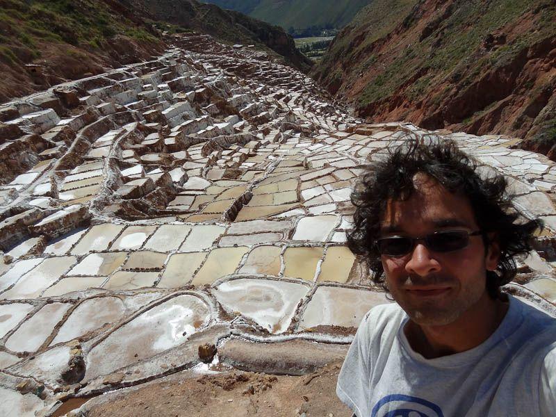 Me At The Maras Salt Ponds