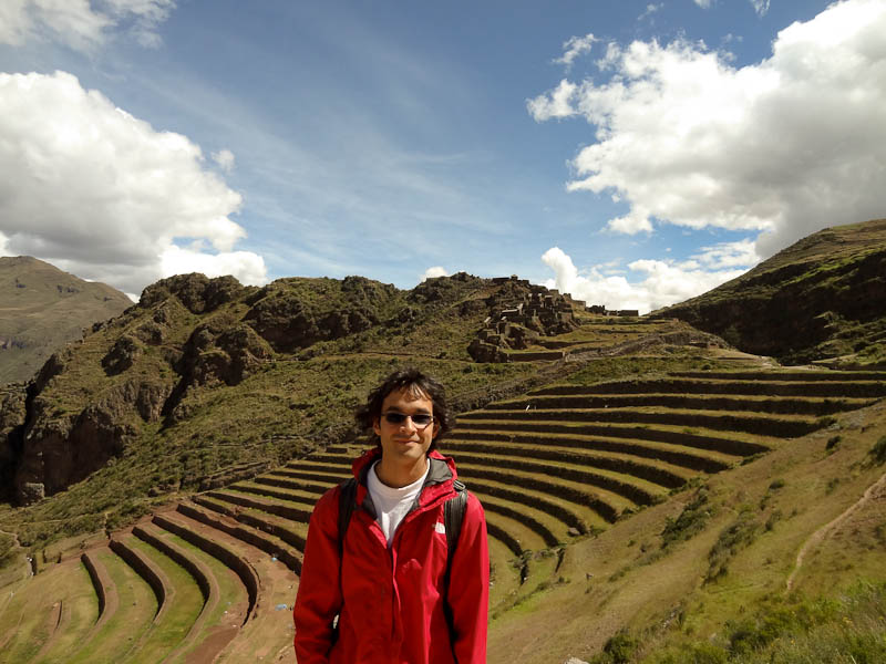 Me With Terraced Agriculture