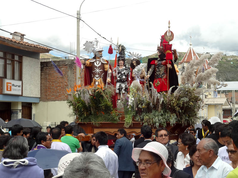 The Float In The Procession