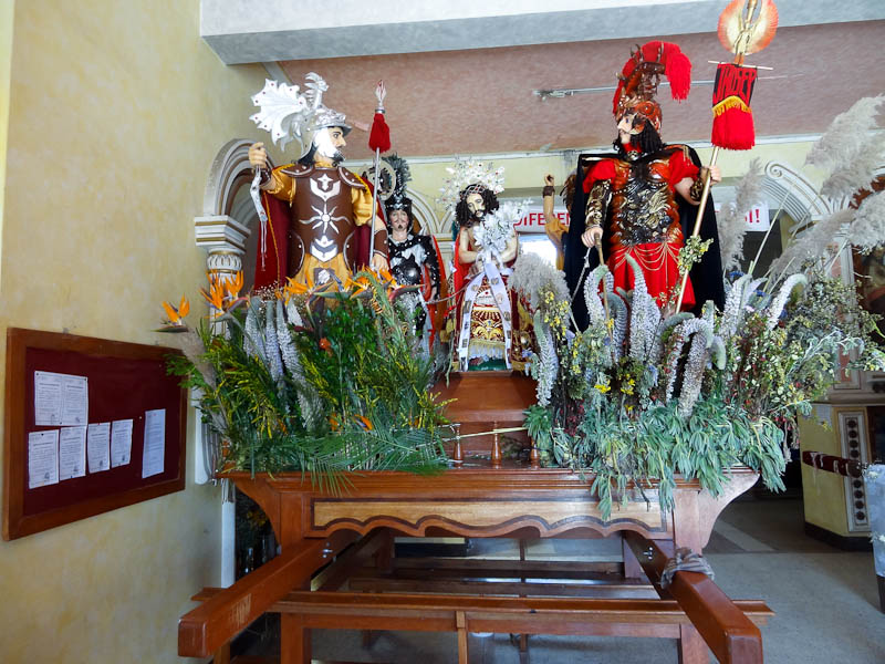 The Floats In The Church