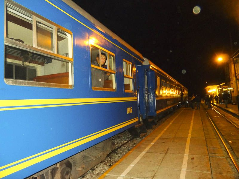 The Train To Machu Pichu