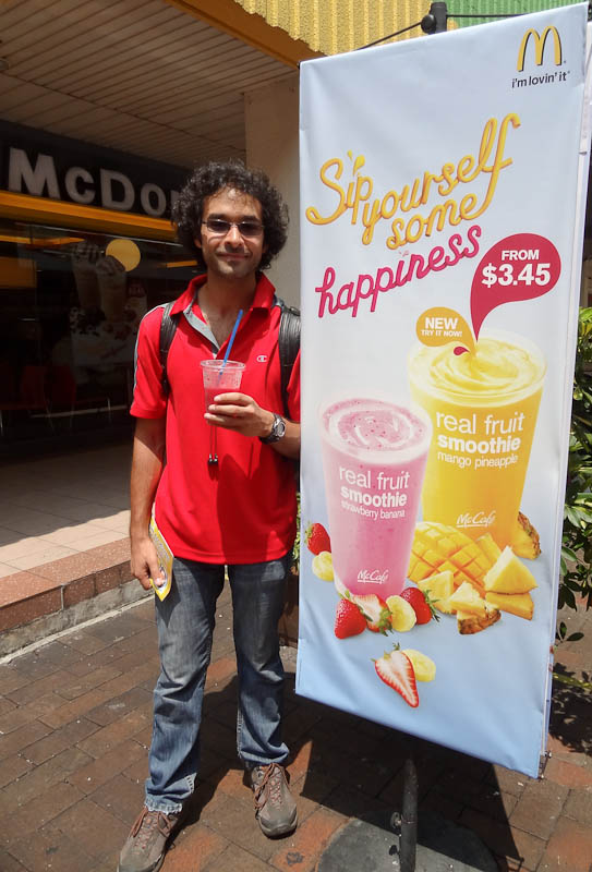 Happiness According To McDonalds - Taken 21-June-2012 - Singapore