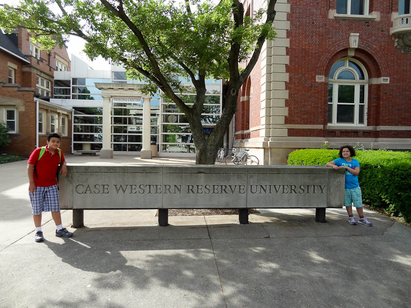 At Case Western Reserve University