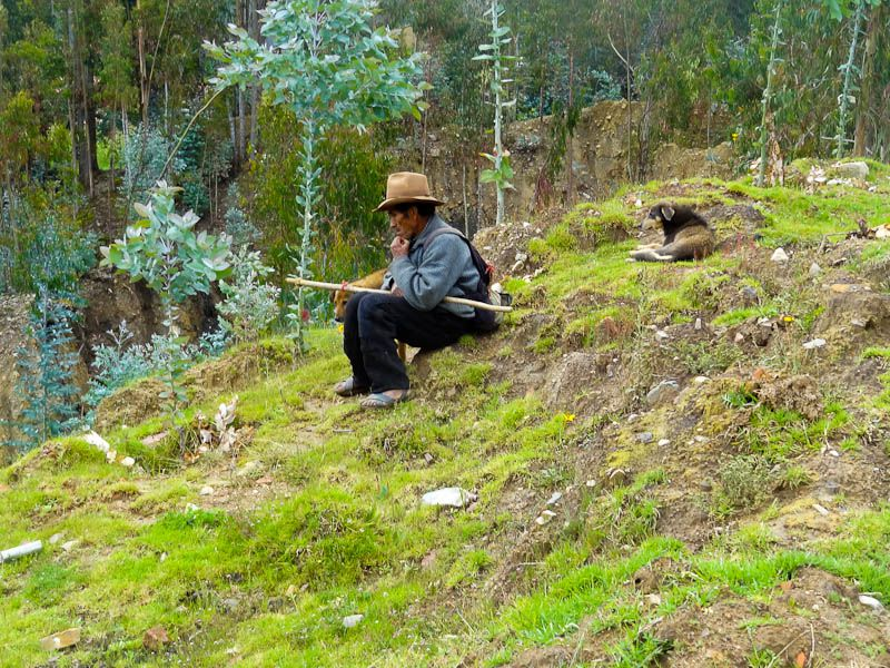 At One With Nature - Yauya, Peru