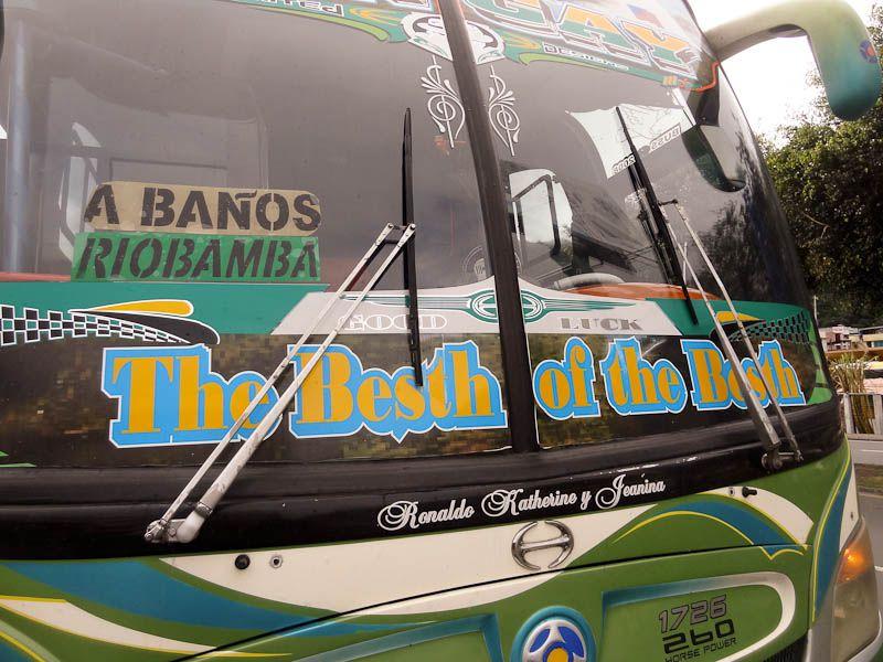 Besth of the Besth - Ecuador