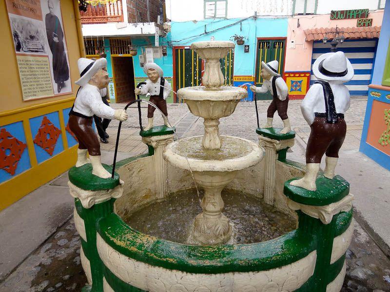 Fountain - Guatape, Colombia