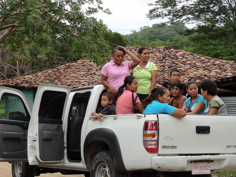 Honduran Pickup Truck