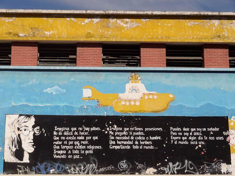 Imagine Lyrics In Spanish - Merida, Venezuela