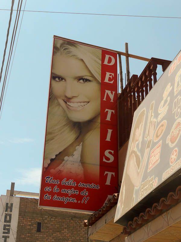 Jessica Simpson's Destist - Casma, Peru