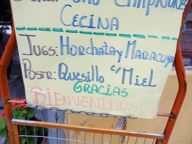 Jugs (Short For Jugos-Juices) - Quito, Ecuador
