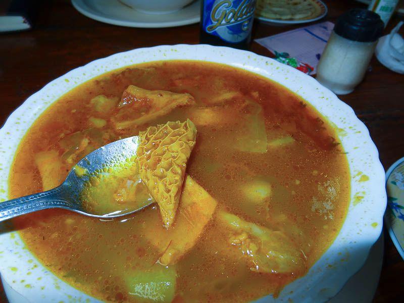 Mondongo (Cow Stomach) Soup