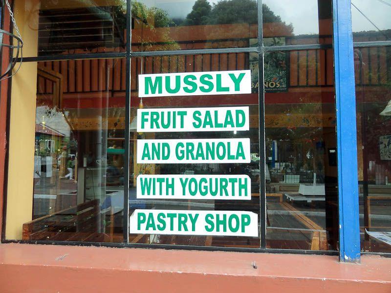 Mussly And Yogurth - Banos, Ecuador