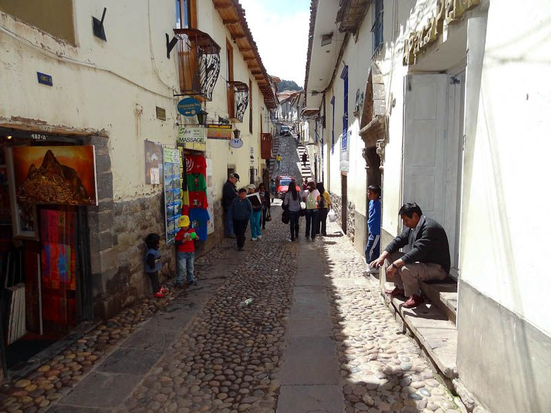 Narrow, Hilly Streets
