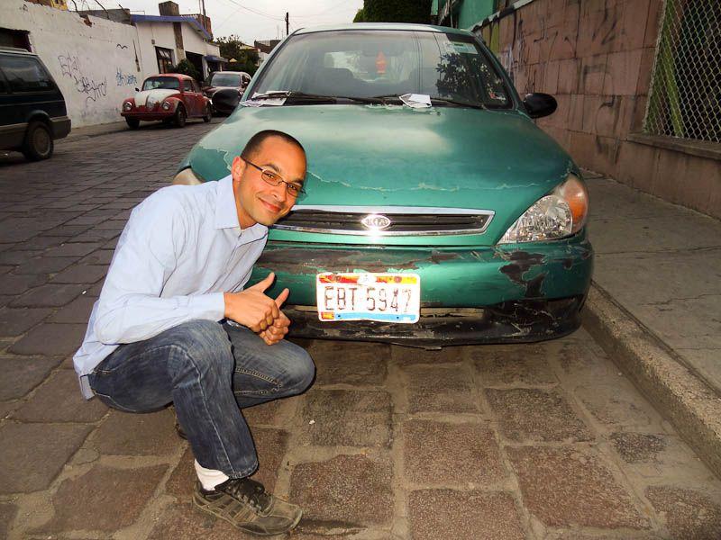 Ohio License Plate In San Luis Potosi, Mexico