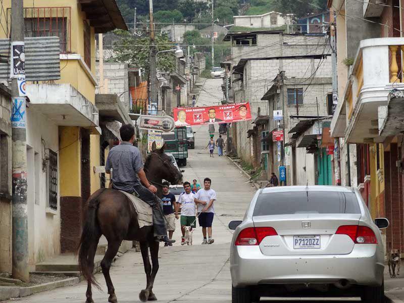 Old And New - San Andres Itzapa, Guatemala