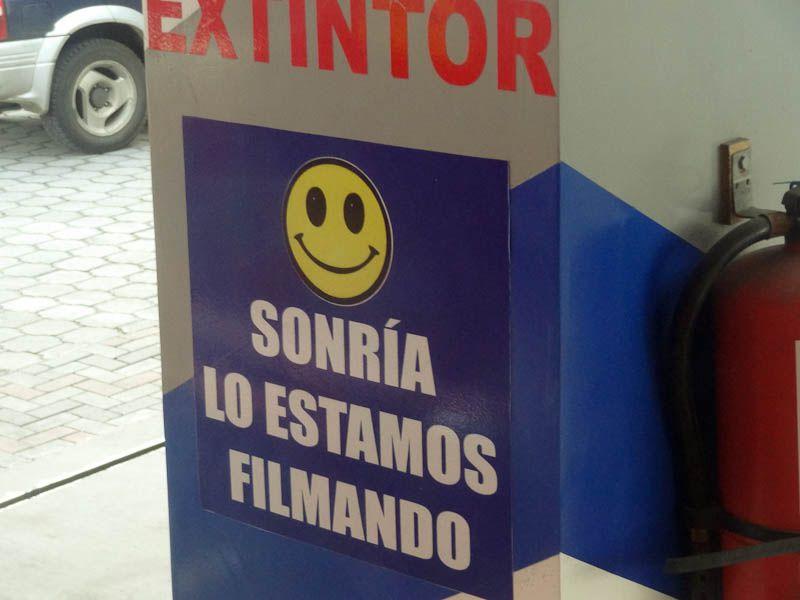 Smile, You Are Being Filmed - Ecuador